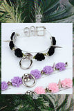 Rose Spikes Chokers