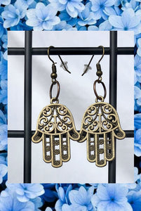 ☯Hamsa Earrings☯