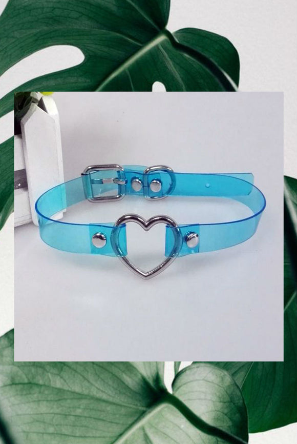 Clear Heart Chokers