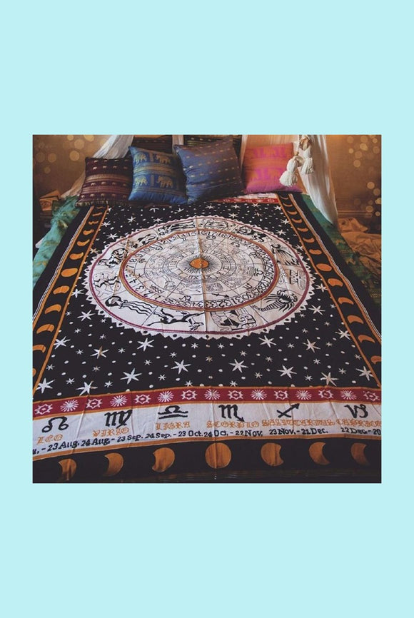 Astrology Inspired Tapestry