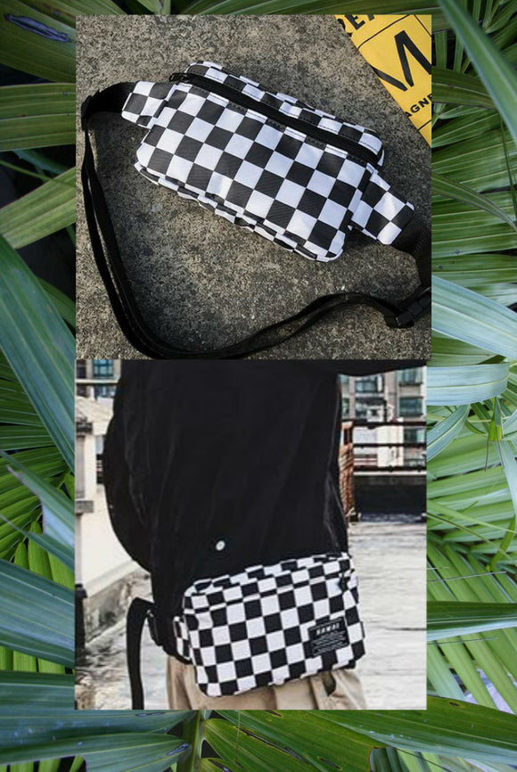 Checkered Bum Bag