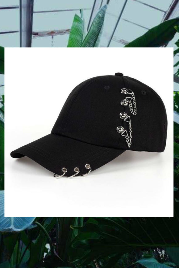 Studded Baseball Caps