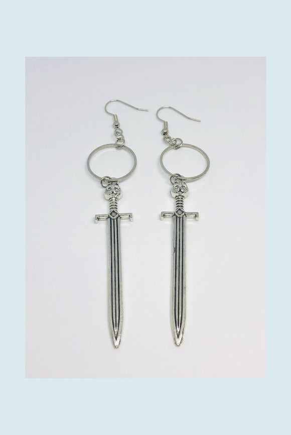 ☯Sword Earrings☯
