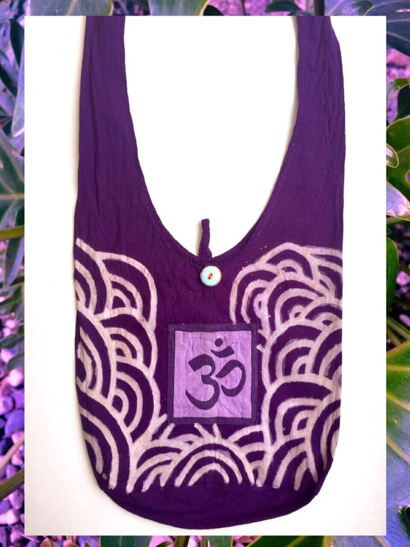 ☯Purple Ohm Hobo Bag☯