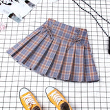 Plaid Pleated Skirts (Many Variants)