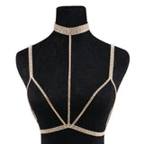 Body Chain with attached Choker