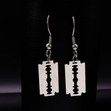Grunge Razor Earrings