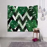 Rainforest Plants Tapestry