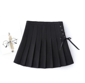 Lace Up Tennis Skirt