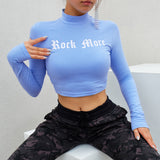 Baby Blue Rock Me Top