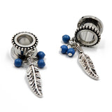 Steel Tunnel Earrings