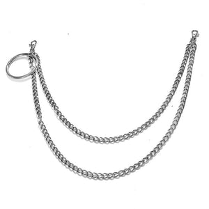 Ring and Chains Wallet Chain