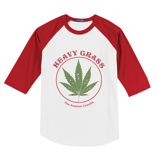 Heavy Grass 'Cannabis' Baseball Tee