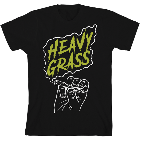 Heavy Grass 'Joint' T-Shirt Black