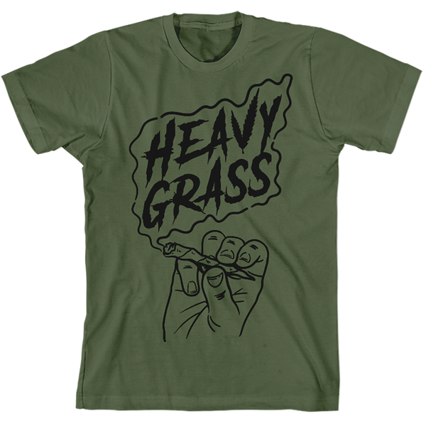 Heavy Grass 'Joint' T-Shirt Olive