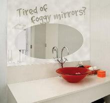 Low Energy Usage Mirror Demisters