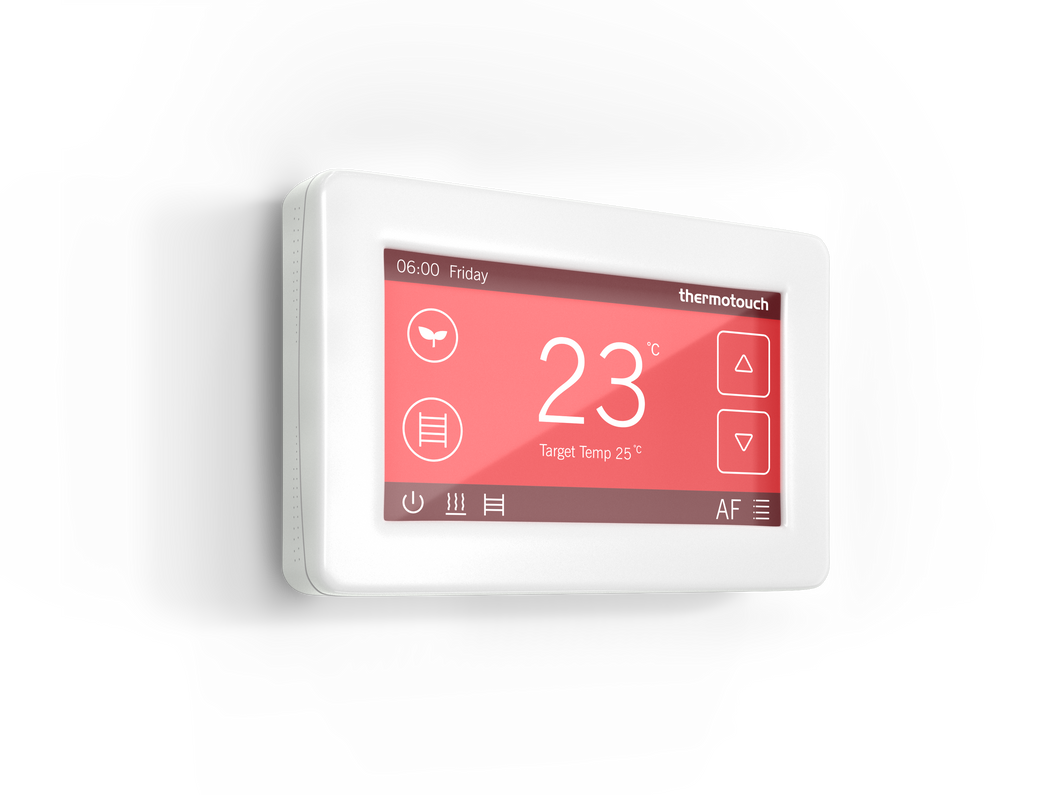 5245 Ice White Thermotouch 4.3dC Thermostat Landscape