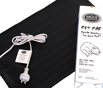 Argus Pet Pad - Gentle Mat Heater for your Pet
