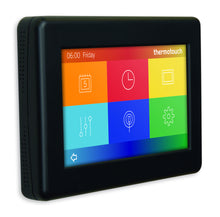 5246 Satin Black Thermotouch 4.3dC Thermostat Landscape
