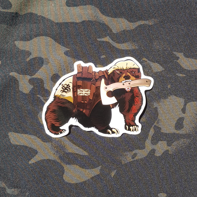 22 Smokin AceS - Tactical Honey Badger Sticker