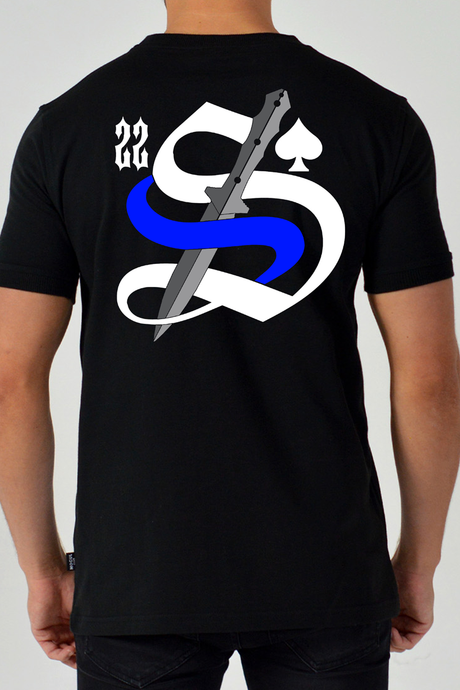 22 Smokin AceS - Thin Blue Line Blade