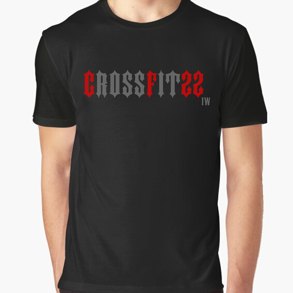 22 Smokin AceS - Crossfit - Iron Will Tee