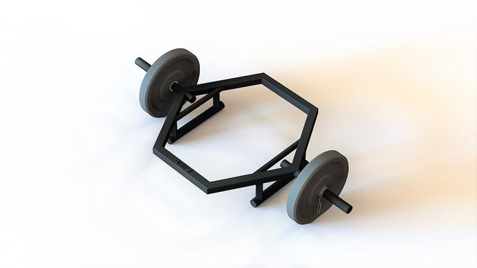 Dual Grip Shrug Bar