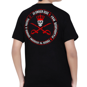 22 SMOKIN ACES - CROSSED SABRE SHIRT KIDS