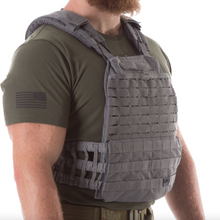 5.11 Plate Carrier With 10lb FLAT Plates - GREY