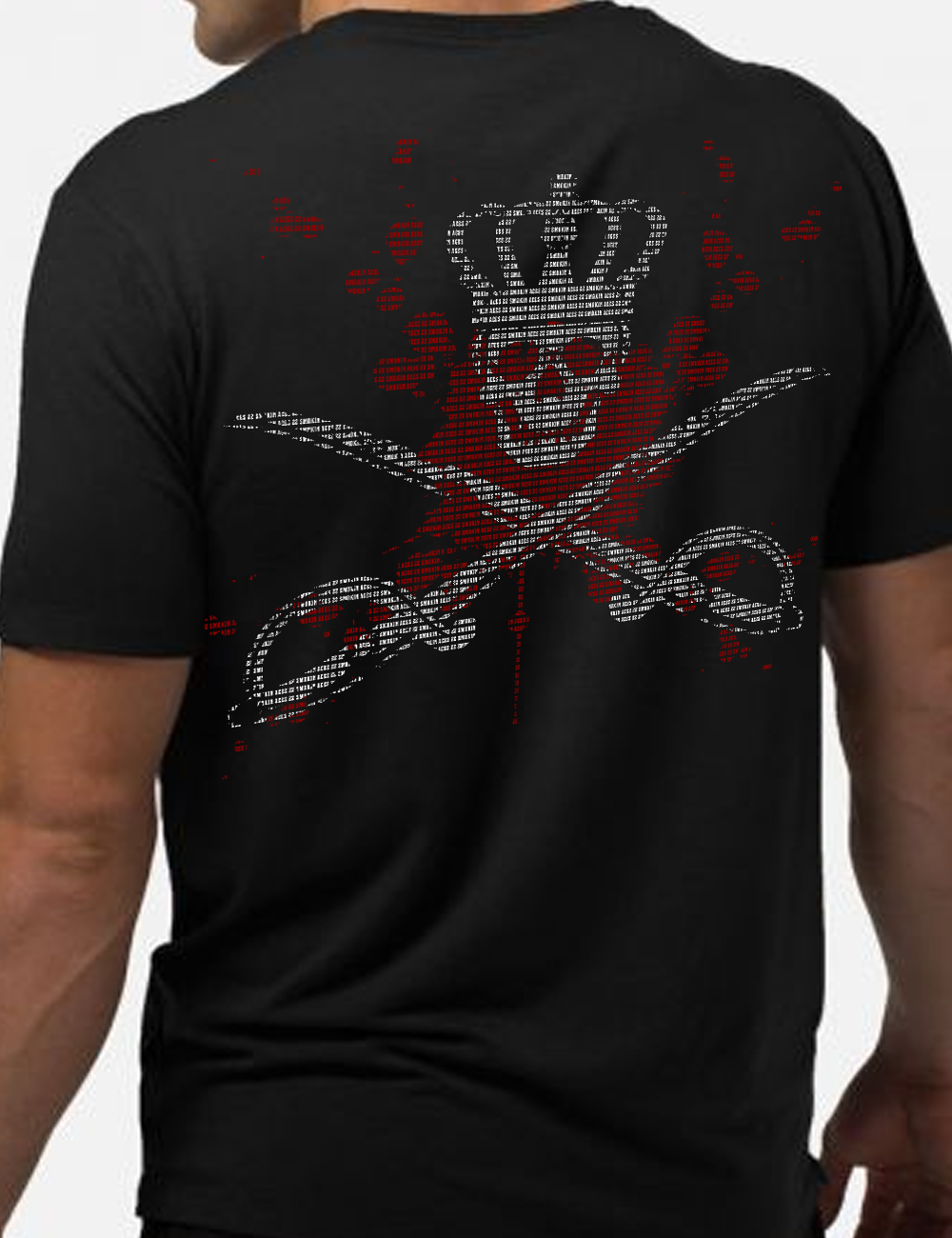 22 Smokin AceS - Crossed Sabre Team Shirt