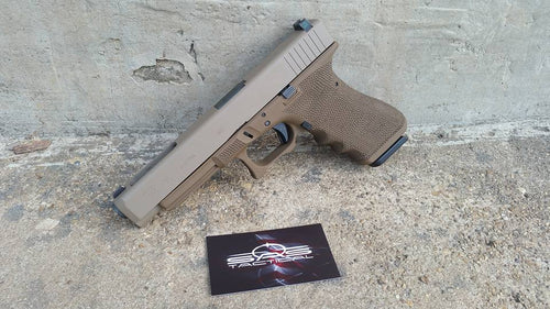 Glock - Full Grip Stippling Service (Sand texture)