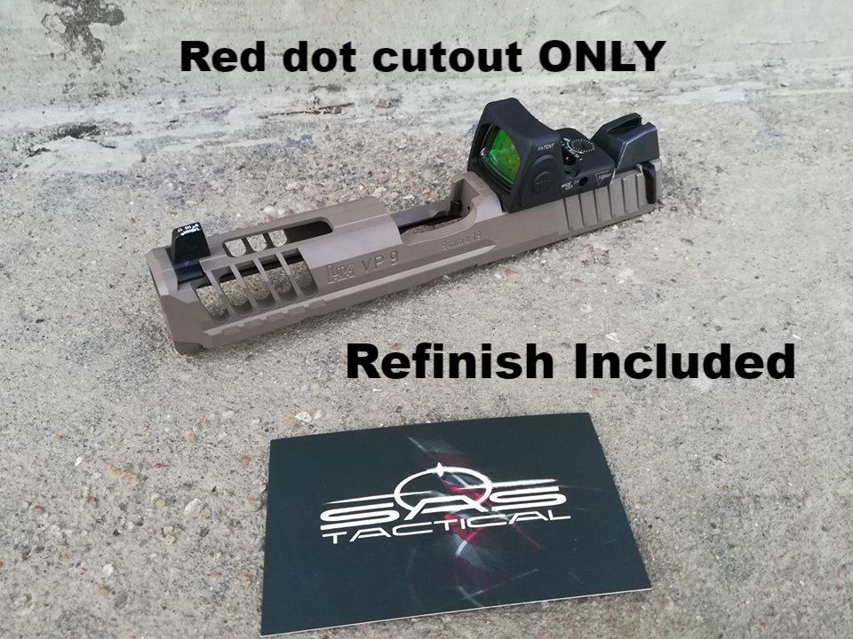 HK - Red Dot Cutout Service (w/Refinish)