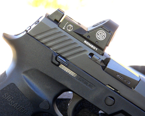 Sig Sauer - Red Dot Cutout Service (Slide Refinish Included)