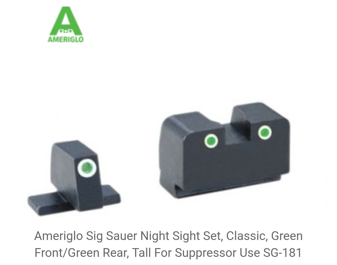 Sig Sauer - Co-witness Height Sights