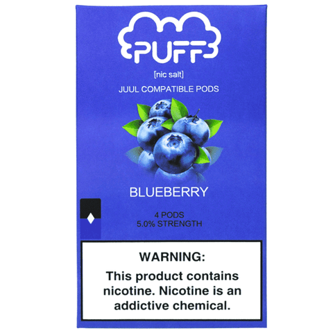 Puff Pods for JUUL ブルーベリー味 5%