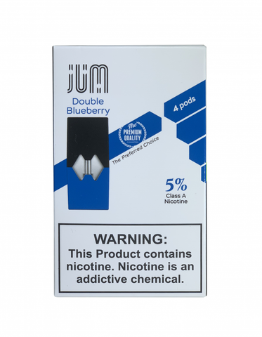 JUM PODS for JUUL ダブルブルーベリー味 5%
