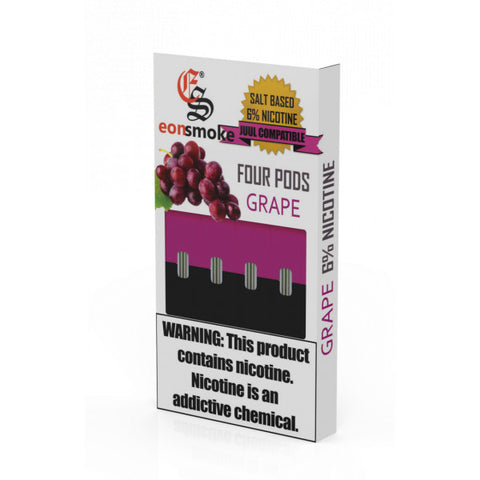 Eonsmoke for JUUL - Grape  6%