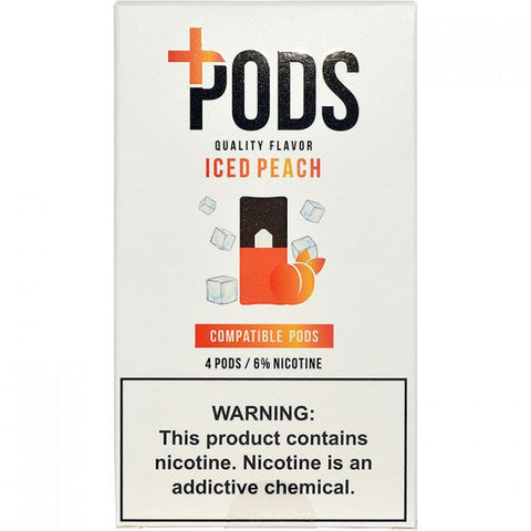 Plus Pods for JUUL Iced Peach 6.0%