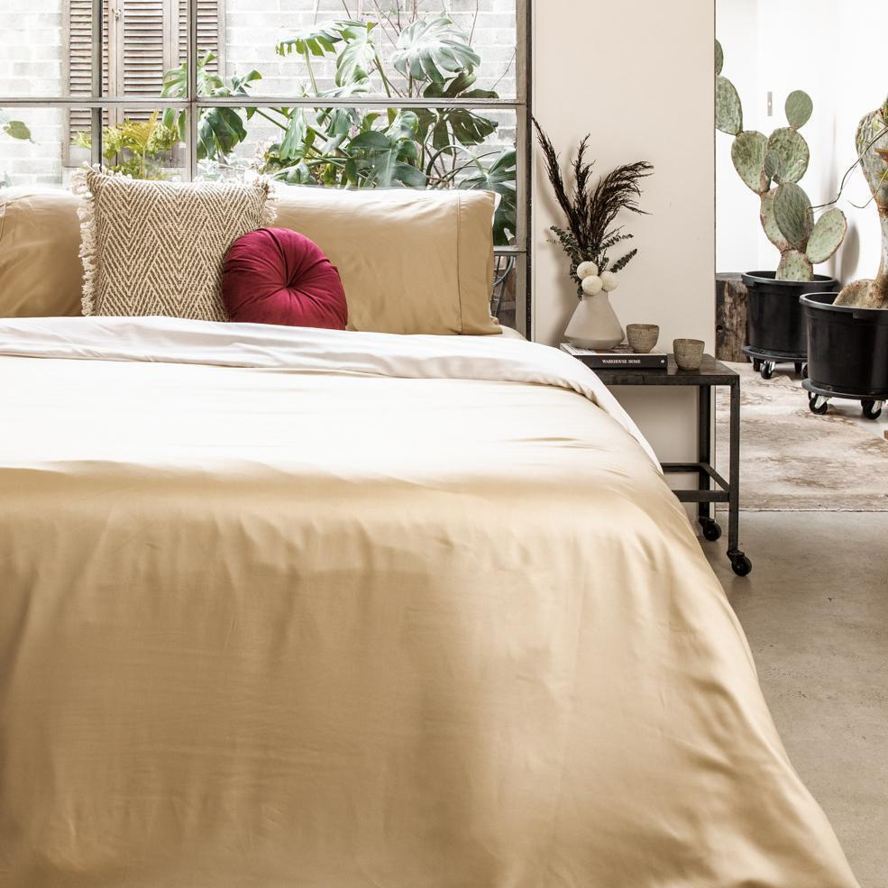 Bamboo Lyocell Duvet Cover Bedding Made With 100% Organic Bamboo