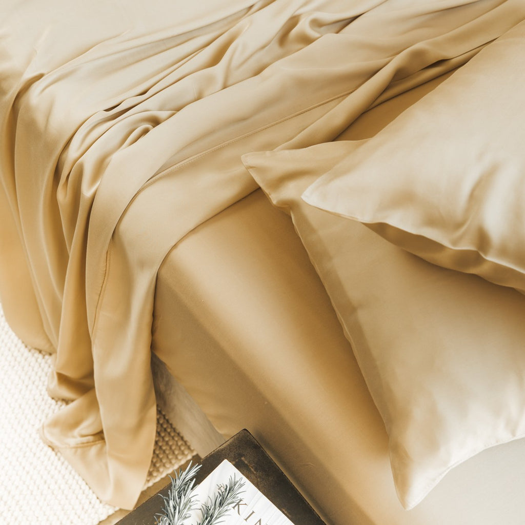 Bamboo Lyocell Flat Sheet Bedding Made With 100% Organic Bamboo