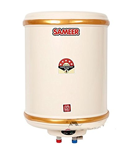 Sameer  Spout ISI Marked Water Heater Geyser with BEE 5 Star Rating (6L, White)