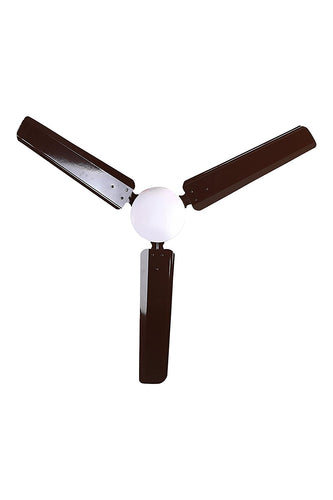 i-Flo Zoom 1200mm Dust Proof Ceiling fan,Brown