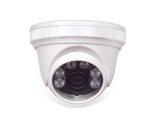 SamCam Indoor NightVision 720p HD Output CCTV Dome Camera,White