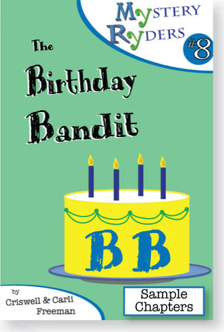 Sample Chapters: The Birthday Bandit
