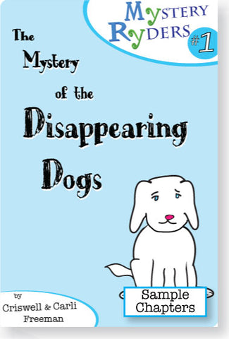 Sample Chapters: The Mystery of the Disappearing Dogs