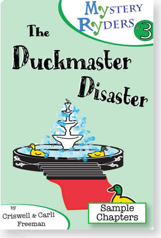 Sample Chapters: The Duckmaster Disaster
