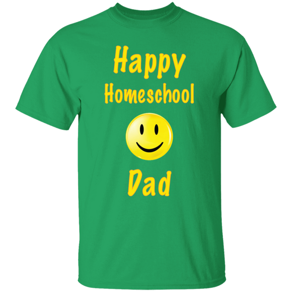 Happy Homeschool Dad T-Shirt