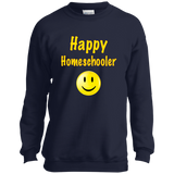 Happy Homeschooler Youth Sweatshirt