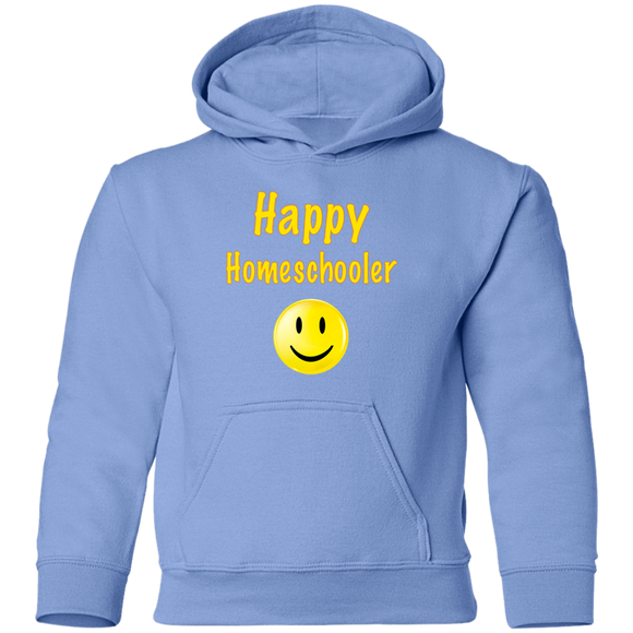 Happy Homeschooler Youth Pullover Hoodie