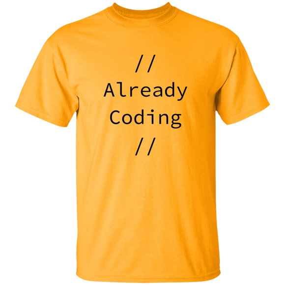 Already Coding Youth T-Shirt